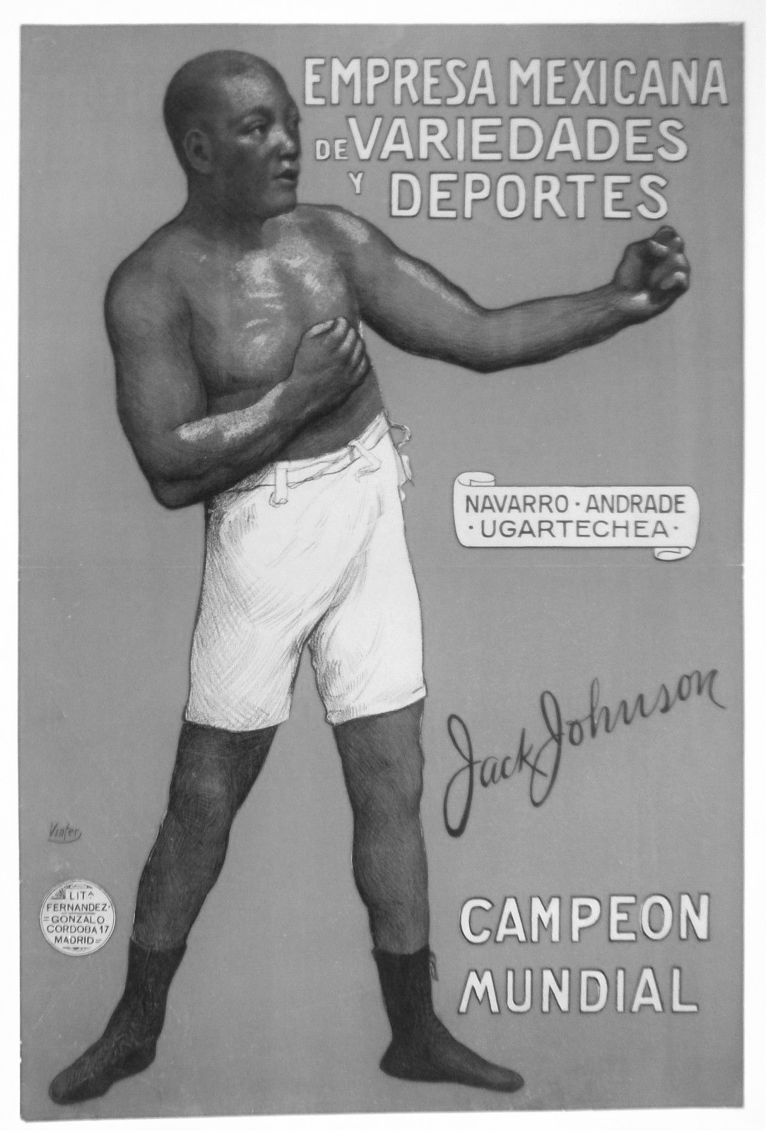 Viva Johnson: Jack Johnson in Revolutionary Mexico