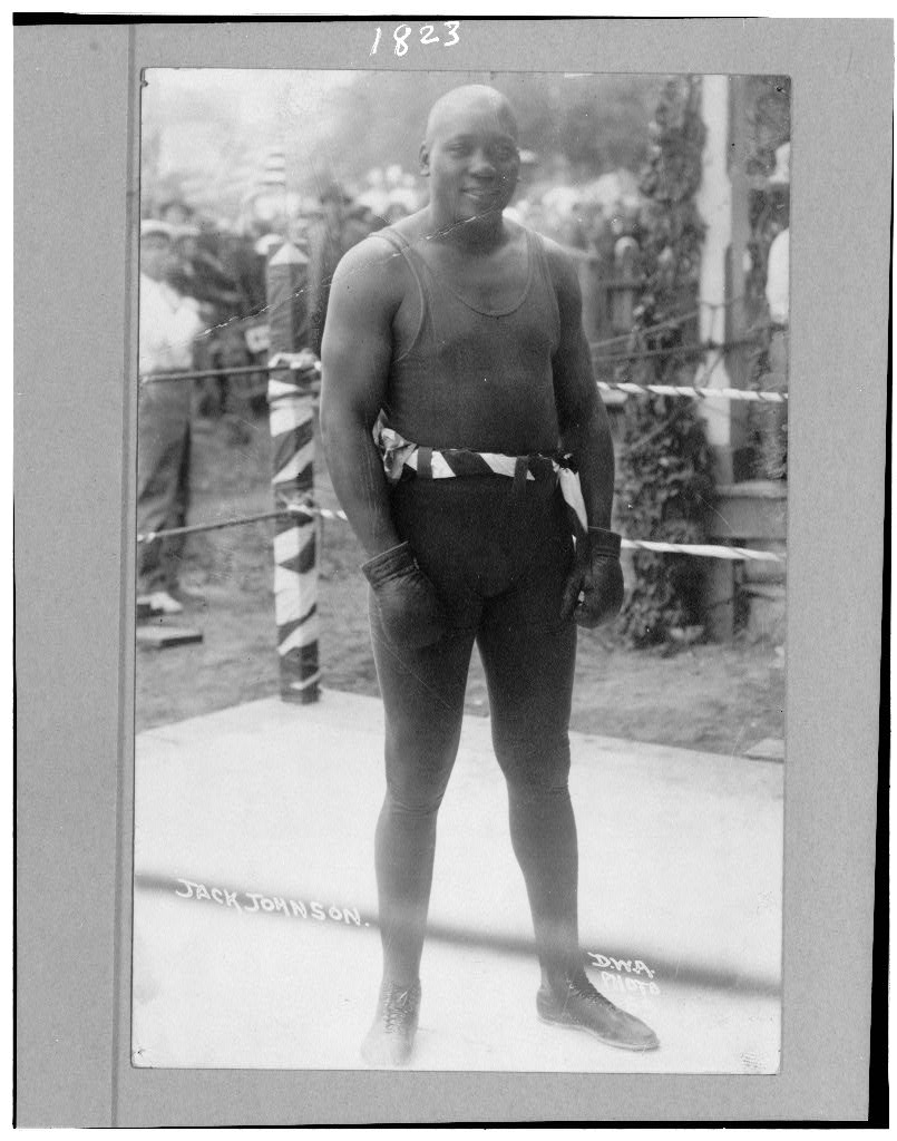 """His next battle is still unexplained"": Jack Johnson and the Mexican Revolution."